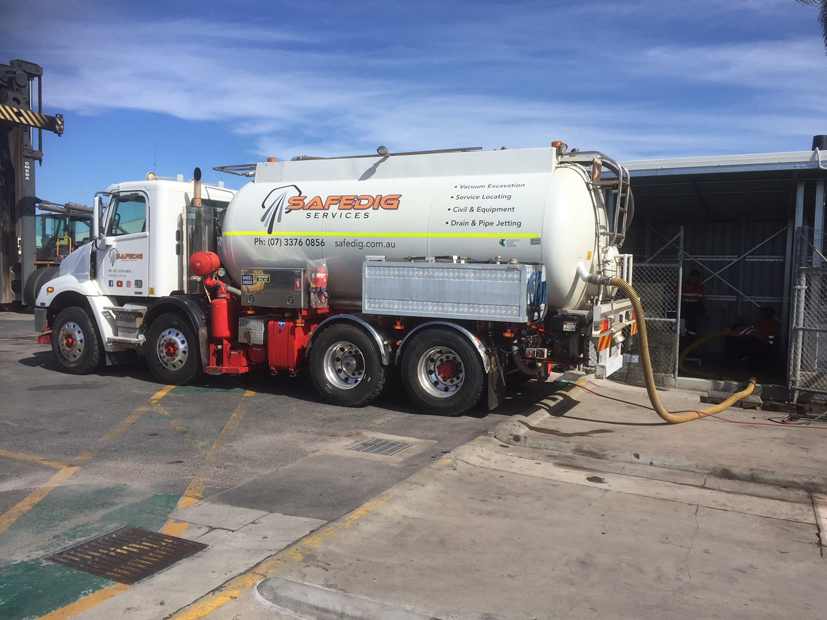 vacuum truck waste services