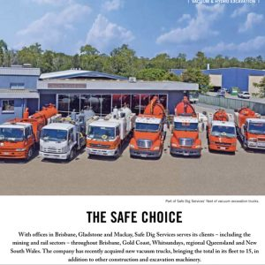 Safe Dig Featured in Trenchless Australasia