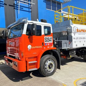 Water trucks for dust suppression